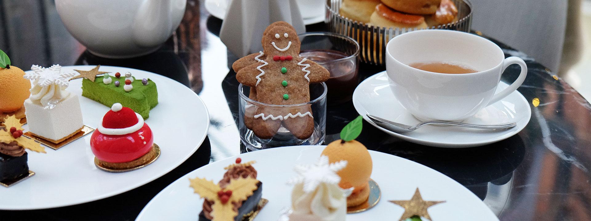 Afternoon tea hero - festive