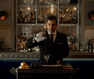 The Martini Trolley: stirring tradition