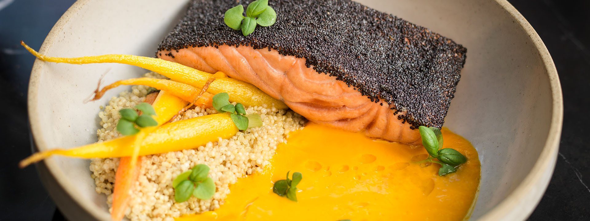 Jean-Georges Salmon dish