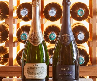 THE ULTIMATE Krug TASTING EXPERIENCE at THE SOMMELIER'S TABLE