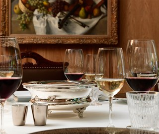 four-course Lunch at the Sommelier's Table