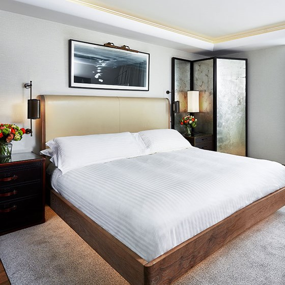 Contemporary Deluxe King Room